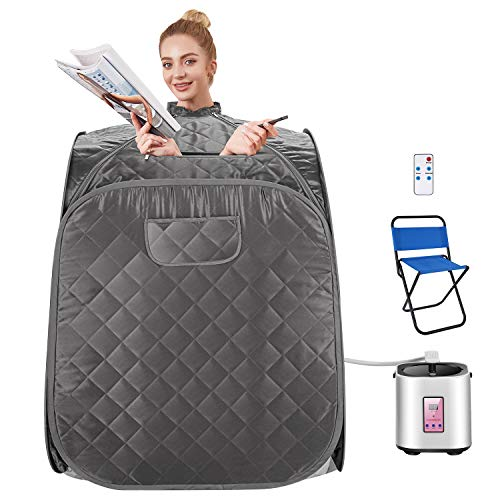 ad: $95 - $102 (50% off)  Portable Indoor Steam Sauna  use code 9ZZG3V2P at checkout   …