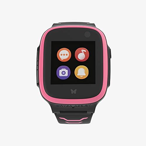 XPLORA X5 NanoSIM Pink Smartwatch für Kinder inkl. SIM-Service von Vodafone & 40€ Amazon Gutschein | Kinderuhr mit GPS | Telefonuhr | GPS-Uhr