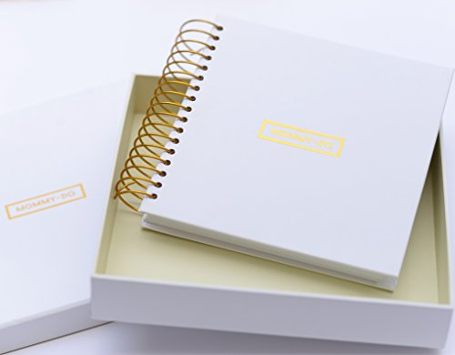 Mommy-do Daily Planner - Busy Mom's on The Go/New Mom Organizer and Day Planner, Kick Start a Healthy You. Stay intentional. Undated. Baby Shower and Registry Gift Mom Must Have. Live Life Happy.