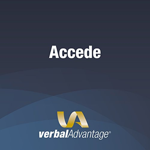 Word of the Day: Accede cover art