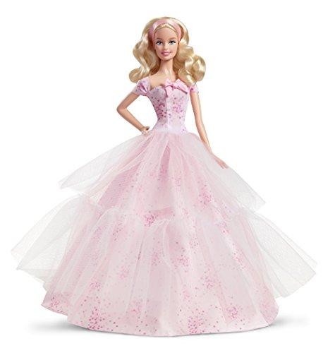 Barbie - Muñeca, Feliz cumpleaños (Mattel DGW29)