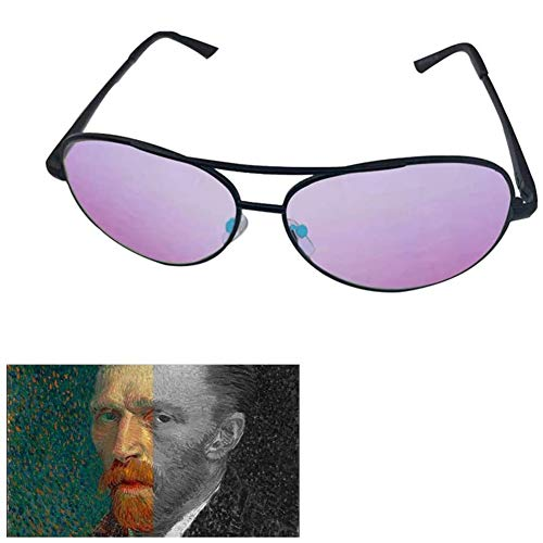 Jakroo Korrektive Farbenblinde Brille, Farbenblind und Farbschwacher Rahmen Farbschwächekorrektur, Rot und Grün Wahrnehmungsstörungen