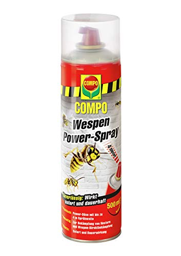 COMPO Wespen Power-Spray, Inkl. Power-Düse,...