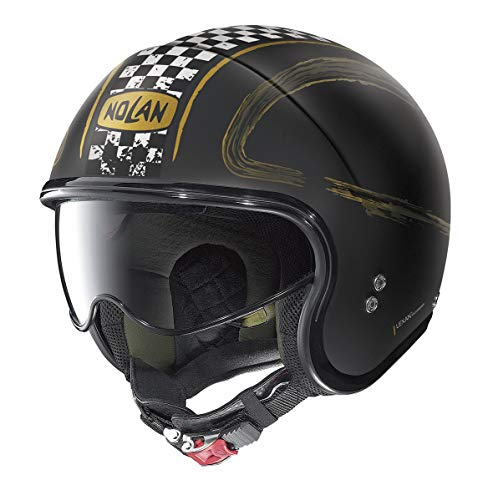 NOLAN CASCO N21 GETAWAY FLAT BLACK L