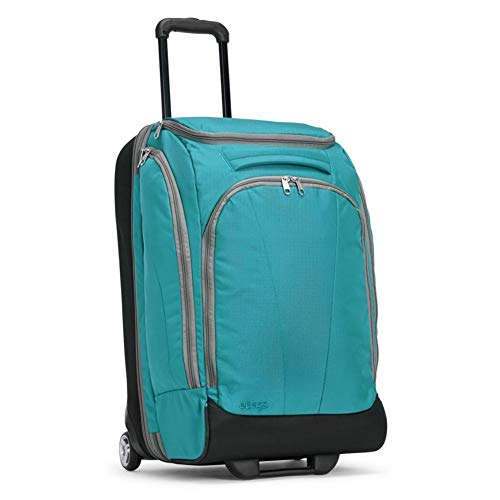 eBags TLS Mother Lode Junior 25 Inch Rolling Duffel Bag Luggage - (Tropical Turquoise)