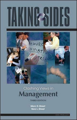 Taking Sides: Clashing Views in Management