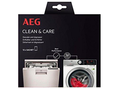 AEG 9029798056 Clean & Care Reinigungsset Waschmaschine und Geschirrspüler
