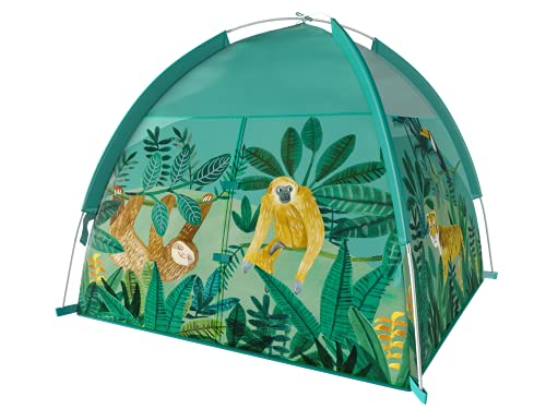 """Eliteliving-s Kids Play Tent Indoor Outdoor Tent Playhouse for Boys Girls Children - 48"""" x 48"""" x 42""""(Safari)"""