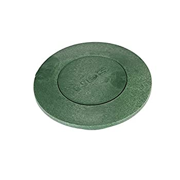 NDS Pop-Up Drainage Emitter with Elbow For 3 in & 4 in Drain Fittings Green Plastic