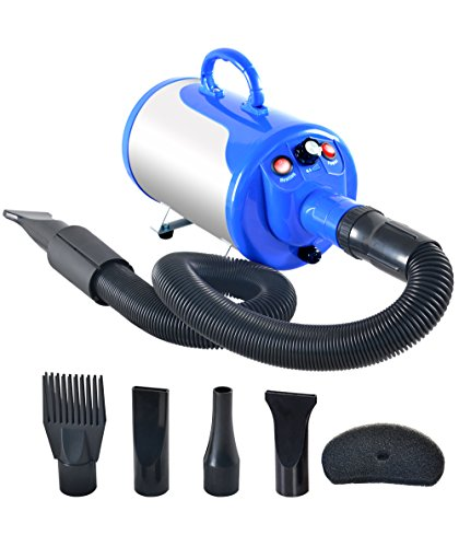 SHELANDY 3.2HP Stepless Adjustable Speed Pet Hair...