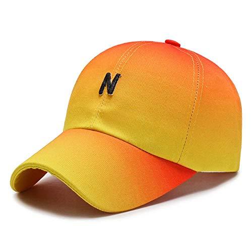 Cap Casquette de Baseball Snapback Cap Peak Cap Hat Femme Casquette De Baseball Casual Wild Sun Hat Outdoor Sun Visor Man Adjustable Orange