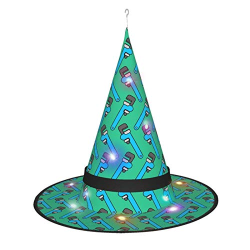 Lowest Price! HALLO580 Tool Ornament. Pattern Party Supplies Witch Hats Accessory for Unisex Party Festival Supplies Decorations 7 PCS Black