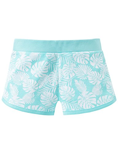 Schiesser Mädchen Hose Sweat Shorts, Grün (Mint 708), 104