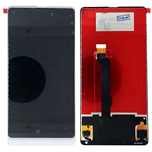 Wigento Für Xiaomi Mi Mix 2 Reparatur Bildschirm LCD Komplett Einheit Touch Weiß Ersatz
