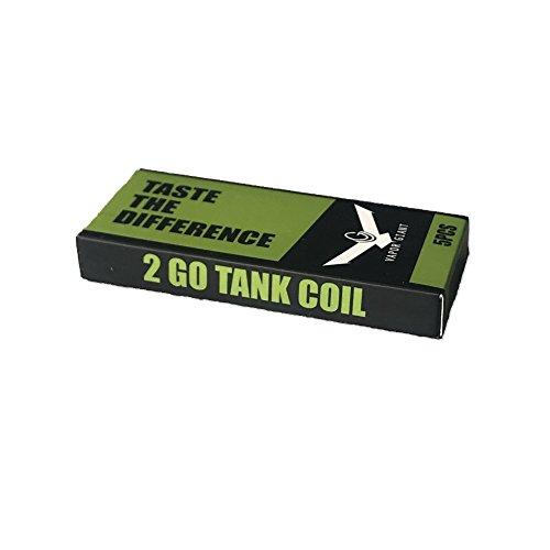 Vapor Giant Go und Go 2 - Verdampferköpfe-1.0 Ohm Kanthal (ohne Nikotin)
