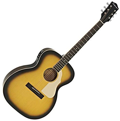 Silvertone 600E Elektro-Akustik-Gitarre American Vintage Sunburst