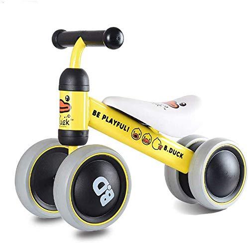 FEE-ZC Kid Veiligheid Baby Balance Bike Kinderen Walker Fiets Veilig Rijden Speelgoed voor 1-3 Jaar Oud Baby Geen Pedaal 4 wieler Peuter Fietsen Eerste Verjaardagscadeau