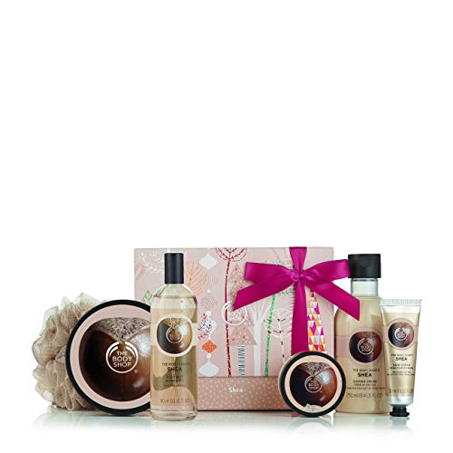 The Body Shop Shea Essential Collections Bath & Body Gift Set, 5 piece