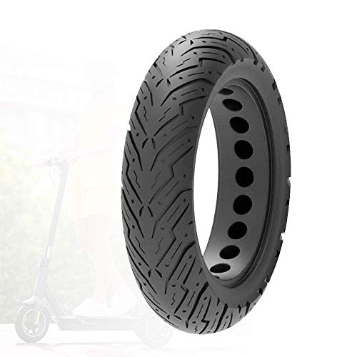WLALLSS Compatible with Ninebot No. 9 G30 Electric Scooter Tires, Non-Slip Wear-Resistant and Explosion-Proof Tires, 60/70-6.5 Tubeless Tires/10x2.50 Solid Tires Optional