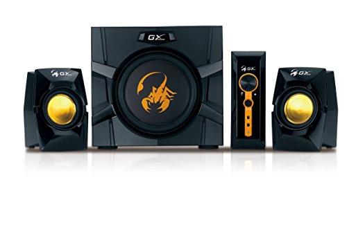 Genius SW-G2.1 3000 - Set de Altavoces (De 1 vía, 35-20000 Hz, PC, Corriente alterna, RCA)