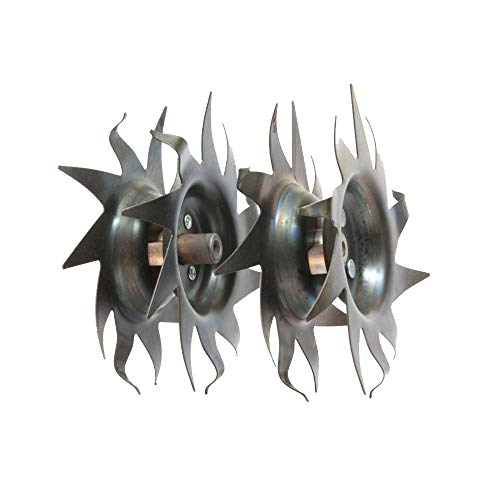 Best Price! Mantis Tiller Tilling/Cultivating Tines (1 Pair) Fits All Tillers 7222, 7225,7260,7261,7...