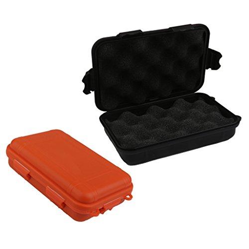Sharplace 2pcs Boîte de Rangement Étanche à l'eau Boîte de Outil Bateau Accessoire Rangment Sport Nautique