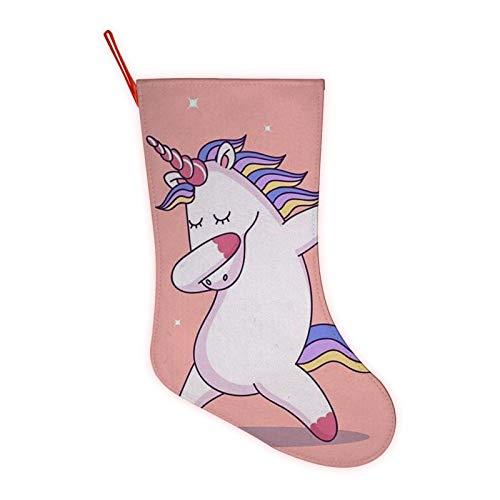 Unicorn Dance Printed Fun Colorful Festive, Crew Knee Cozy Socks Women Fancy Christmas Holiday Design Soft