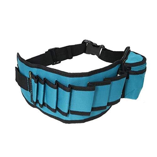 Bolsas De Herramientas, Cinturón Ajustable Bolsa Electrian Cintura Cinturón De Herramientas Multibolsillos Herramienta De Trabajo del Carpintero Holder