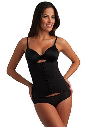 Miraclesuit Shapewear Women's Extra Firm Waist Cincher, Black, XL