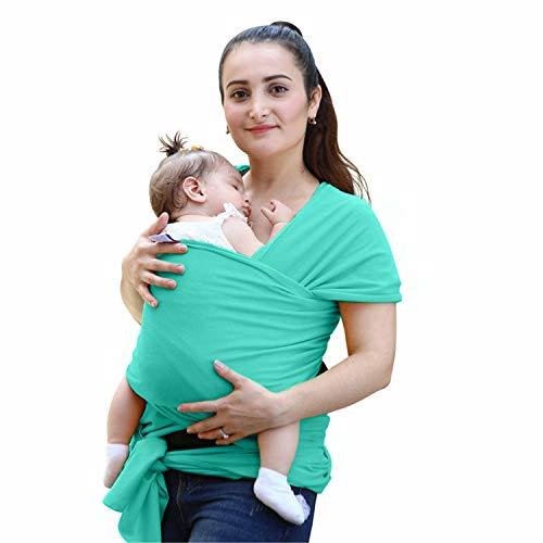 BABIFIS Porte-bébé Sling pour Les Nouveau-Nés Doux Infant Wrap Respirant Wrap Hipseat Allaitement Naissance Confortable Couverture d'allaitement