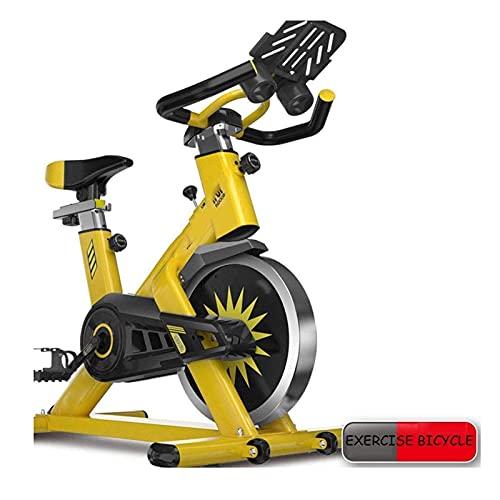 WGFGXQ Bicicleta estática Entrenamiento Cardiovascular Bicicleta estática silenciosa Equipo de Fitness Interior Bicicleta estática Soporte de Carga 250 kg