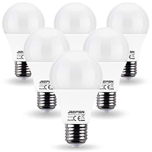 REPSN® 10W AC/DC 12V 24V E27 LED Birne 10W=60W Warmweiß Glühbirne Leuchtmittel,RV LIGHT BULB