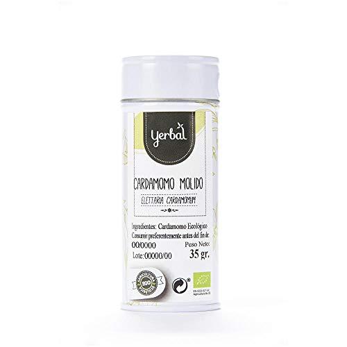 Cardamomo Molido Ecológico para condimentar platos Yerbal 35 g