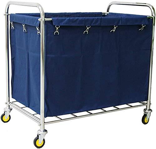 WZCC Schönheitssalon Physiotherapie Equipment-Shelf-Car Medical Wagen Gewerbe Rollwäsche Sorter Servierwagen Auf Rädern, Hotel-Bettwäsche Reinigungswagen Mit Griff Mobile Werkzeugwagen