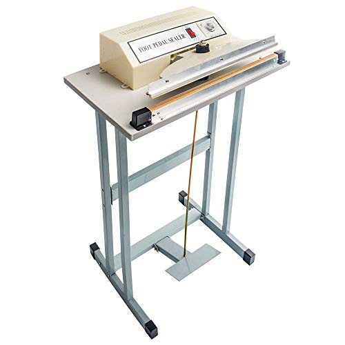 Find Bargain Sumeve Foot Pedal Impulse Sealer 300mm 12 Commercial Pedal Plastic Bag Sealing Machine...