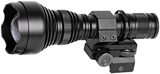 ATN IR850 Pro Long Range 850 mW Infrared Illuminator for Hunting, Law Enforcement, Search & Rescue and Military use, Includes IR Illuminator, Battery, Charger and Mount