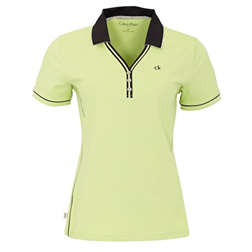 Calvin Klein - Camisa Deportiva - para Mujer Verde Chartreuse UK 10
