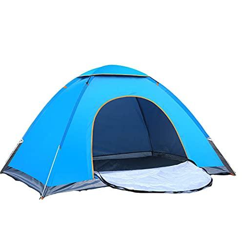 XZZ Tienda Al Aire Libre Sin Carpa para Instalar 4 Personas, Conducción Rápida Automática, Doble Playa, Camping, Simple, Tiro a Mano, Tienda De Campaña Impermeable