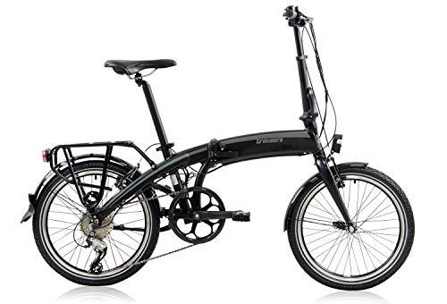 tretwerk DIREKT gute Räder Wega 20 Zoll Faltrad E-Bike, Klapp-Fahrrad 8 Gang Kettenschaltung