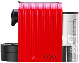 Automatic Coffee Machine Capsules 1400W 19 BAR Pump High Pressure Extraction Coffee Makers with 800Ml Removable Water Tank Water Tray Easy to Clean for Home Office,Red