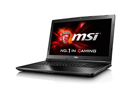 MSI GL72-6QFAC16H21 43,9 cm (17,3 Zoll) Laptop (Skylake i7-6700HQ/HM170, FHD, GeForce GTX 960M 2GB GDDR5, 16GB RAM, 256GB SSD, 1TB, Win 10) schwarz