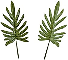 YATAI Artificial Palm Leaves Fake Flower 1Pcs Faux Single Tropical Plants Leaf For Multiple Occasions