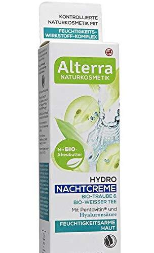 Alterra Hydro Nachtcreme Bio-Traube & Bio-Weisser Tee, 50 ml