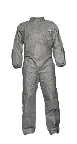 DuPont Proshield 8 Proper, Schutzanzug mit Stehkragen,Grau, Größe M