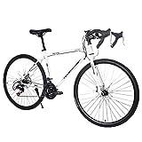WudiTop 【Fast Delivery】 Road Bike 700C Wheels 21 Speed Disc Brake Double Disc Brake Lightweight...
