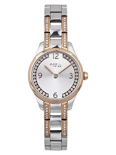Armbanduhr BREIL fur Frau Heily mit uhrarmband aus Stahl, Werk TIME JUST - 2H QUARZUHR