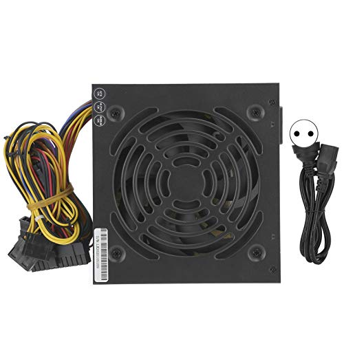 Computadora 250W PC Fuente de alimentación Accesorios de Piezas de computadora de Escritorio ATX-250W 115 / 230V(Enchufe de la UE)