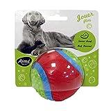 AIME Jouet Balle pour Chien, Jouet 5 Sens, Balle 8 cm - Goût Boeuf - pour Chien, Jouet Interactif Chien