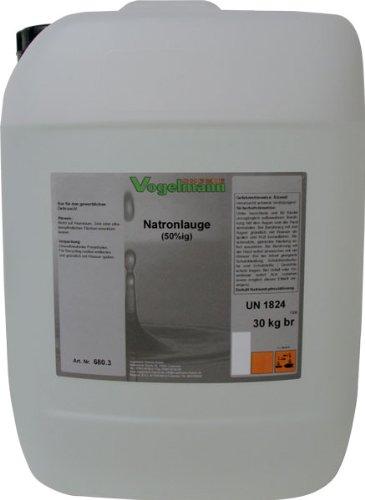 Vogelmann Chemie GmbH 30 kg Natronlauge 50%
