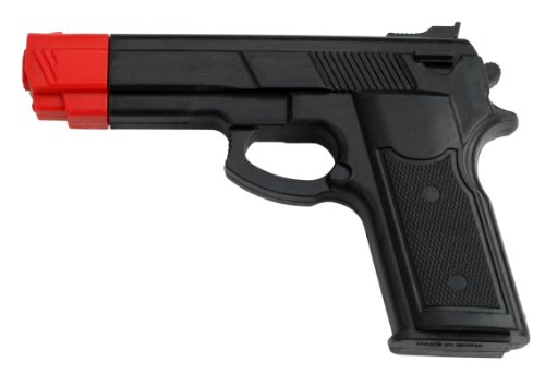 BladesUSA Rubber Training Gun Black and Red Head Painting